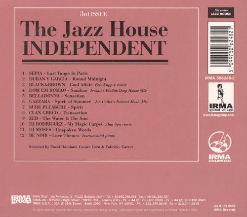 The Jazz House Independent, Vol. 3