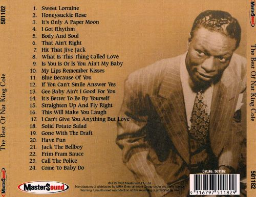 Best of Nat King Cole [Mastersound]