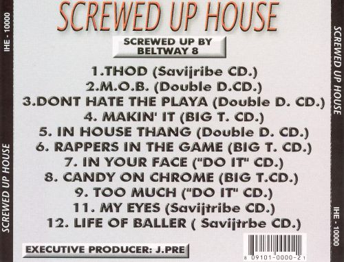 Screwed Up House, Vol. 1