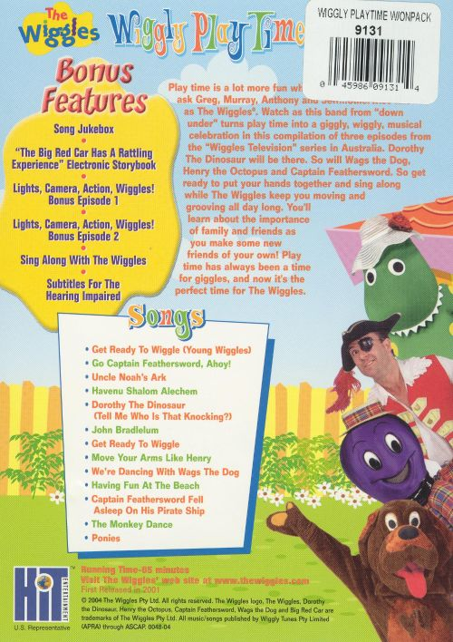 Wiggly play time dvd cd the wiggles songs reviews for Best country christmas songs of all time