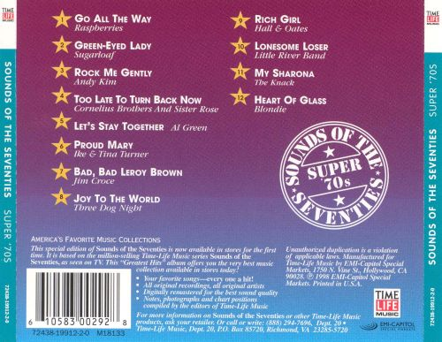 Sounds of the Seventies: Super 70's