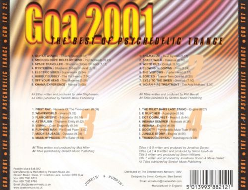 Goa 2001: Best of Psychedelic Trance
