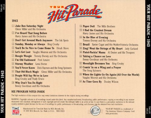Your Hit Parade: 1943