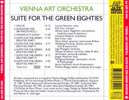 Suite for the Green Eighties