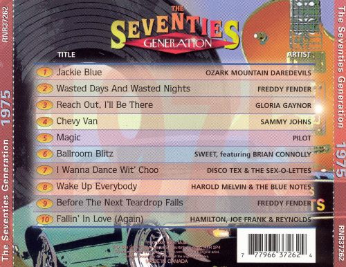 The Seventies Generation: 1975