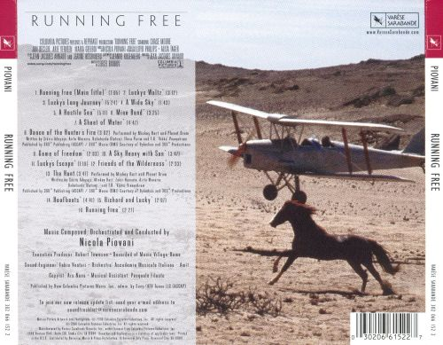 Running Free [Original Motion Picture Soundtrack]