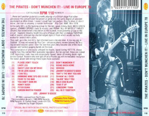 Don't Munchen It: Live in Europe 1978