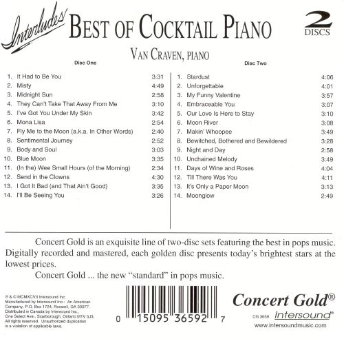 Interludes: Best Of Cocktail Piano