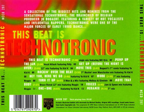 This Beat Is Technotronic