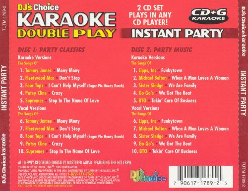 Instant Party: Party Classics and Party Music