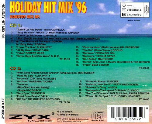 Holiday Hit Mix '96