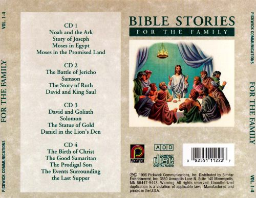 Bible Stories for the Family, Vol. 1-4