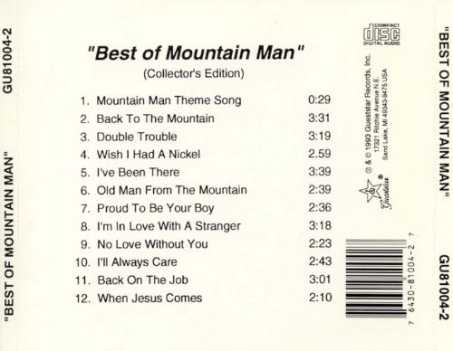 The Best of Mountain Man [Collectors Edition]