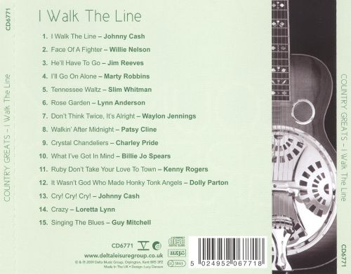 Country Greats: I Walk the Line