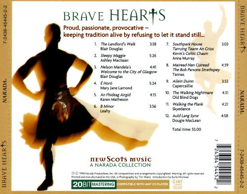 Brave Hearts: New Scots Music