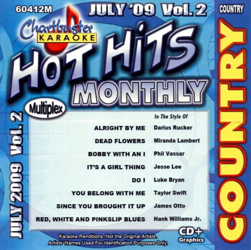 Karaoke: Hot Hits Country, Vol. 2 - July 2009