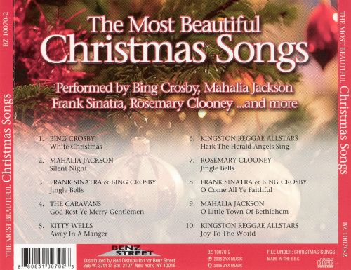 The Most Beautiful Christmas Songs [Benz-Street]