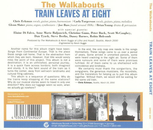 Train Leaves at Eight