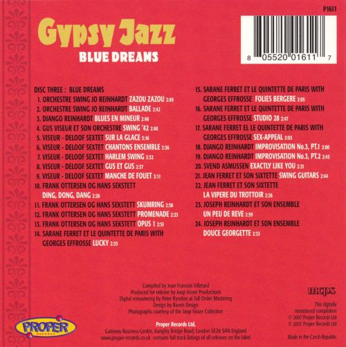 Gypsy Jazz: Blue Dreams