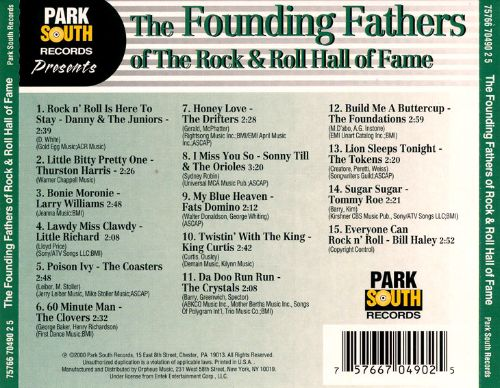Founding Fathers of the Rock N' Roll Hall of Fame