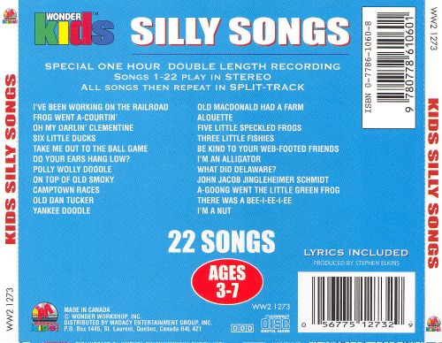 Wonder Kids: Kids Silly Song Sing-A-Longs