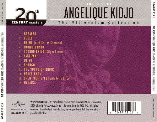 20th Century Masters - The Millennium Collection: The Best of Angelique Kidjo