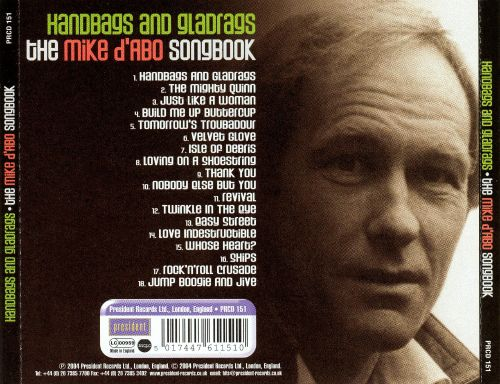 Handbags And Gladrags The Mike D Abo Songbook