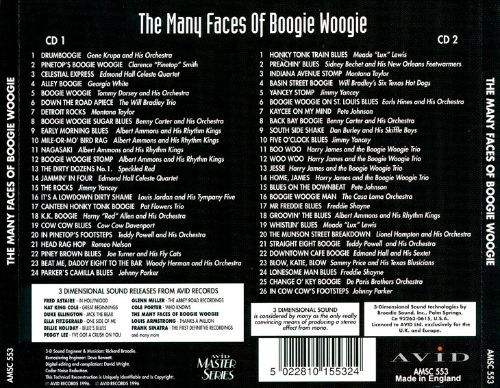 The Many Faces of Boogie Woogie