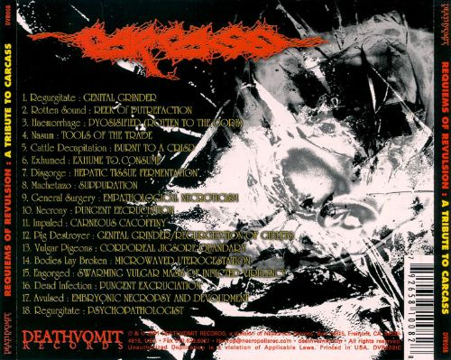 Requiems of Revulsion: Carcass Tribute
