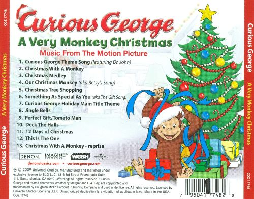 Curious George: A Very Monkey Christmas - Various Artists | Songs ...