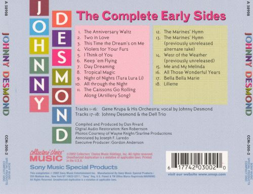 The Complete Early Sides