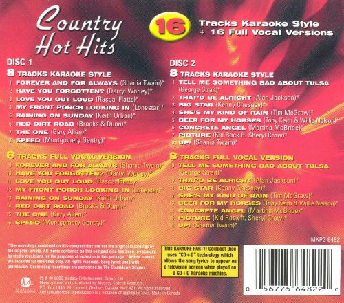 Country Hot Hits [Madacy 2003]
