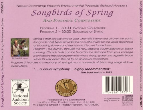 Nature Recordings: Song Birds of Spring