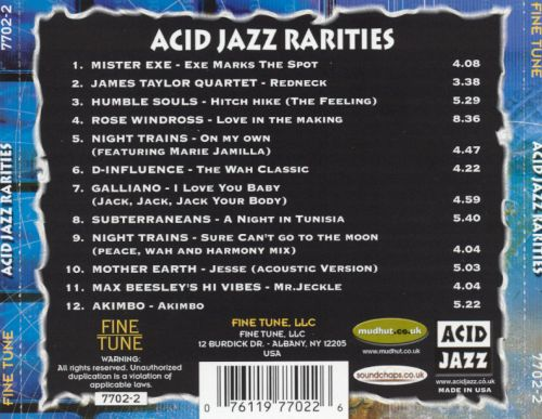Acid Jazz Rarities