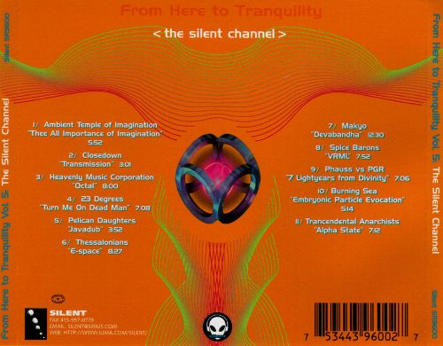From Here to Tranquility, Vol. 5: The Silent Channel
