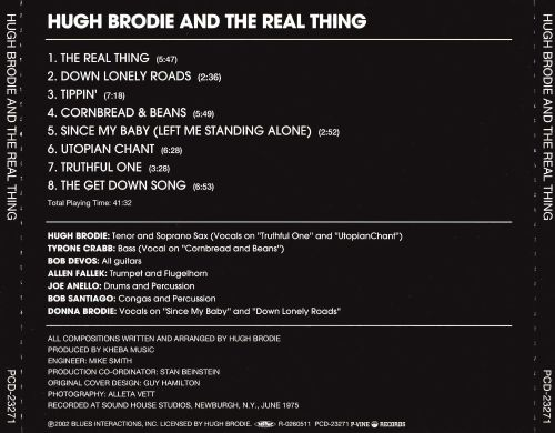 Hugh Brodie and the Real Thing