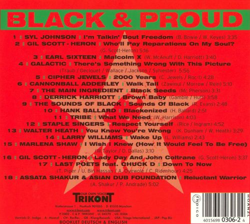 Black & Proud: The Soul of the Black Panther Era, Vol. 2