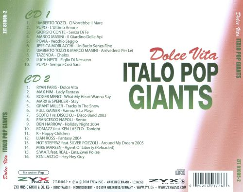 Dolce Vita: Italo Pop Giants
