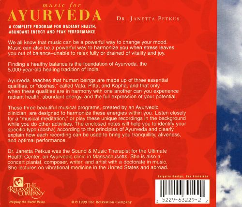 Music for Ayurveda