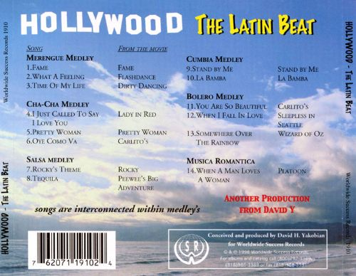 Hottest Movie Songs in Latin