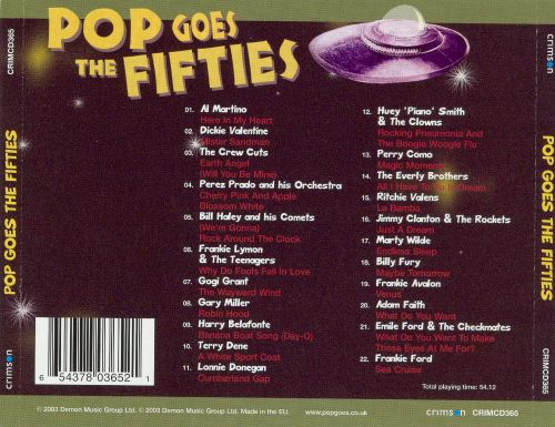 Pop Goes the Fifties