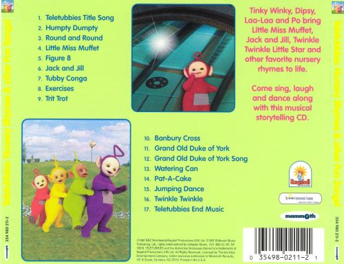 Nursery Rhymes And Other Fun Songs Teletubbies Songs
