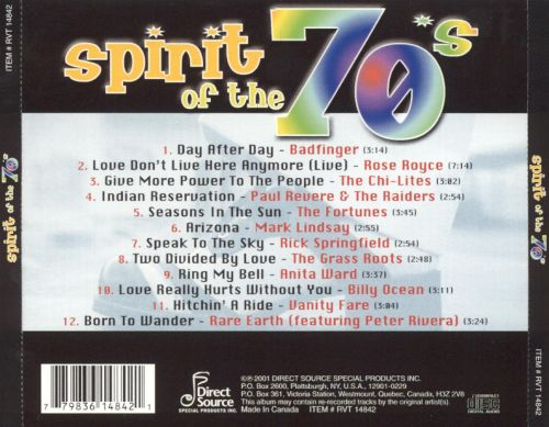 Spirit of the 70's