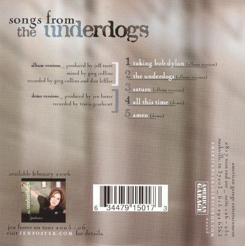 Songs from the Underdogs