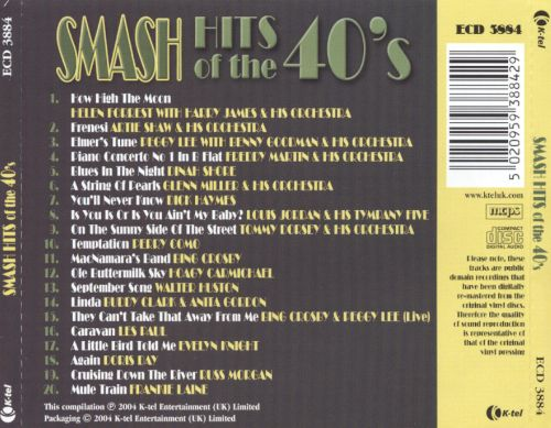 Smash Hits of the 40's