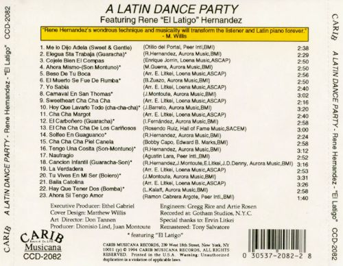 A Latin Dance Party