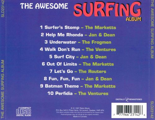 Awesome Surfing Album [Prime Cuts]