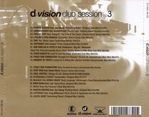 D: Vision Club Session, Vol. 3