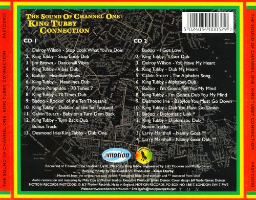 Sound of Channel One: The King Tubby Connection