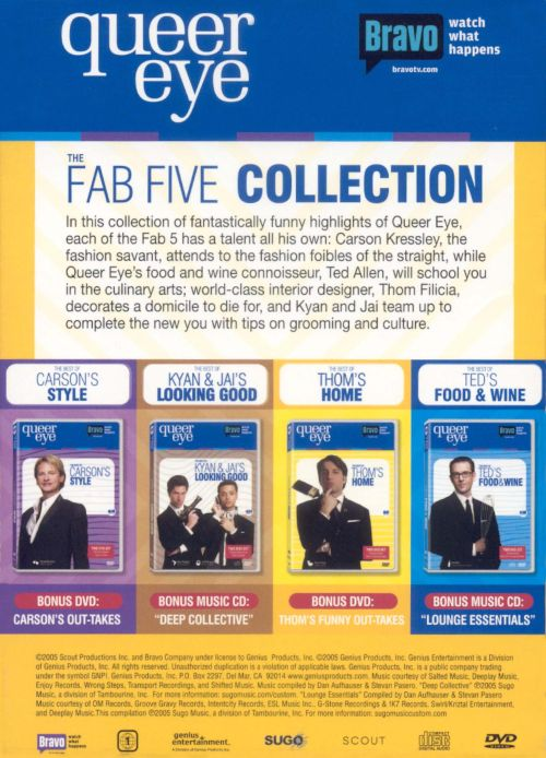 Queer Eye: The Fab Five Collection [DVD/CD]